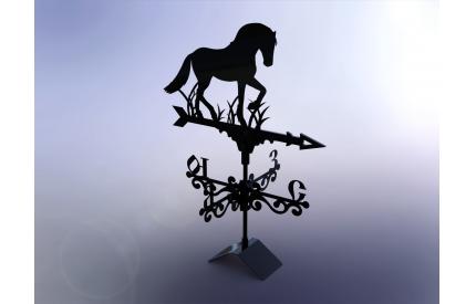 "Флюгер ""Лошадь"""